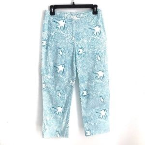 Vintage white label Lilly Pulitzer capris size 6